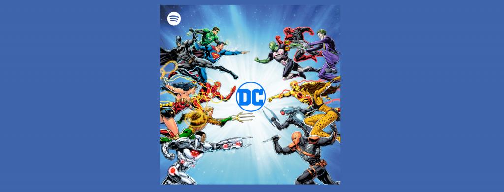 Spotify e DC