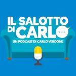 """copertina del podcast """"il salotto di Carlo"""""""