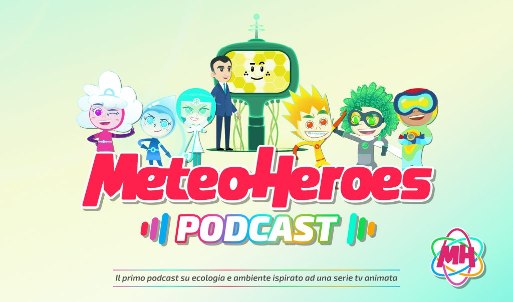 copertina podcast di MeteoHeroes