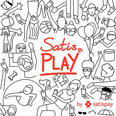 La copertina del branded podcast di Satisplay