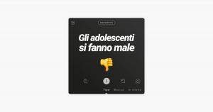 gli adolescenti si fanno male podcast italiani